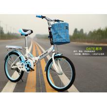 """14 """"16"""" 20 """"vélo pliable d'alliage de frein à disque de vitesse simple"""