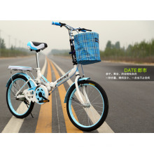 """14 """"16"""" 20 """"bicicleta dobrável da liga do freio de disco da única velocidade"""