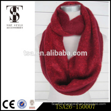 single color high cost performance excellent breathability acrylic scarf factory