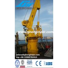 Deck Guindaste Marítimo / Guindastes de Convés de Navios / Guindaste Pedestal Offshore