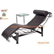 Современный эргономичный кожаный отель Leisure Lounge Recliner Chair (F4D)