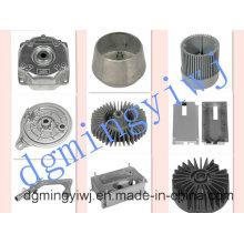 Aluminio de alta presión de fundición fabricante de piezas de automóviles que aprobó ISO9001-2008
