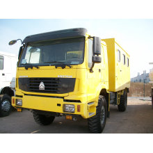 China Sinotruk 15ton Special Mobile Workshop for Sale