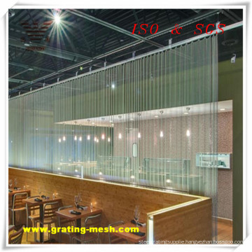 Knuckle Type Chain Link Mesh for Decorative (ISO)