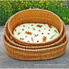 (BC-PK1006) High Quality Handmade Willow Pet Kennel
