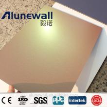 Panneau composite en aluminium Dreamx / Spectrum / Chameleon Surface avec une largeur maximale de 2 mètres