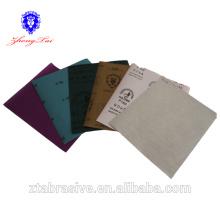 Farbsandpapier für Kunst und Kunsthandwerk