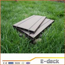 Resistência ao fogo produto verde longa vida wpc madeira decking composto de plástico passou CE SGS