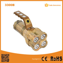 Multifunction Cheap Plastic 10W Strong Light Flashlight