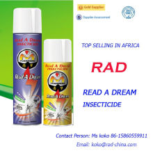 China Supplier Read a Dream Rad Effective Insecticides Spray