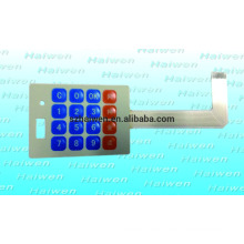 Interruptor de membrana de prototipo a medida con 3M467