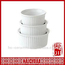 Tazón de cerámica de ramekin, ramekin de cerámica, tamaños ramekin