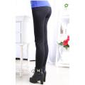 Womens padrão veludo grosso sem costura Leggings no inverno