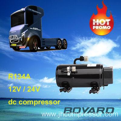 China R134a 12v 24v Dc Air Conditioner Compressor Hb075z24