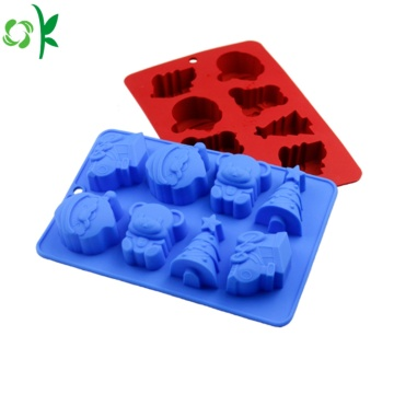 FDA Christmas Silicone Soap Mould till salu