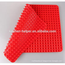 Hot Selling Custom China Professional Fabricante Família Durable Non-stick Food Grade Fat Redução Silicone Baking Mat