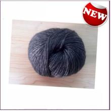 Solid Color Natural Wool Bamboo Fiber Blended Yarn