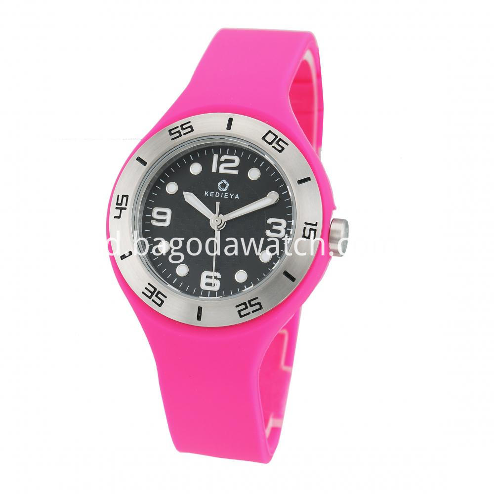 Silicone Womens Watches