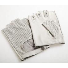 Herrenmode Ziegenleder Fingerless Driving Sporthandschuhe (YKY5201-2)