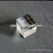Chang K9 cristal en gros 3D laser gravure cube cadeaux de mariage peuvent être personnalisés selon les exigences du client