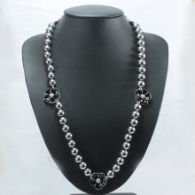 High Quality Knotted Shell Pearl Necklace