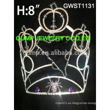 Tiara de calabaza, tiara de hallowmas, tiara de vacaciones