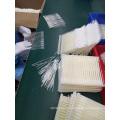 Nasal specimen collection flocked swab