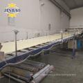 JINBAO 1220x2440 white grey rigid material de pvc duro