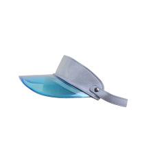Destaque tampa de viseira de plástico rígido de PVC ajustável