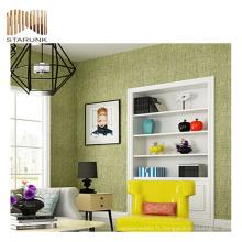 papier peint pvc paillettes haut de gamme et durable pour les chambres
