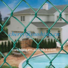 PVC Coated Chain Link Fence (factory&exporter)