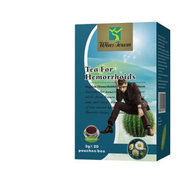 Private label Winstown Organic herbal hemorrhoids tea for hemorrhoid cure