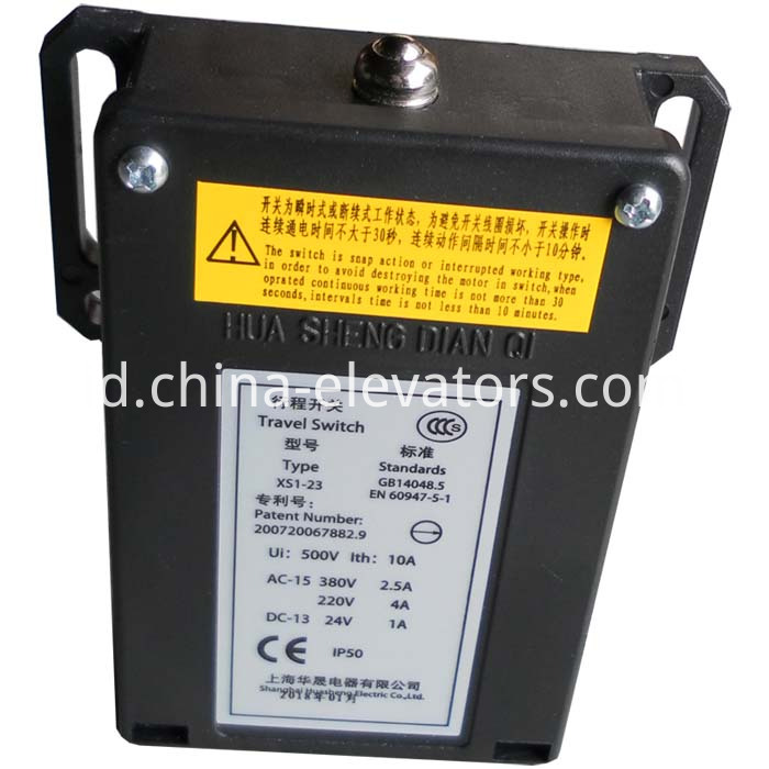 Travel Switch for MRL Elevator Speed Governor XS1-23