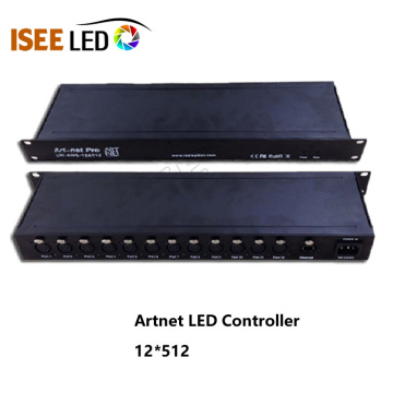 Controlador Rj45 Interface Dmx Artnet LED