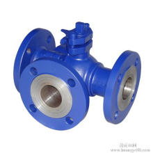 L Type Three Way Ball Valve (GQ44F)