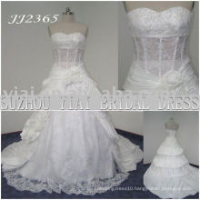 2011 latest elegant drop shippiong freight free ball gown style 2011 wedding dress JJ2365