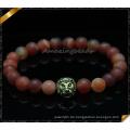 Top-Menge Achat Stein Perlen Armbänder (CB087)