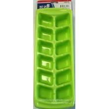 JML 2PK Green Ice Cuber Container / Ice Cube Bandeja / recipiente de plástico de gelo