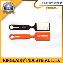 Personalized Soft PVC Luggage Tag with Logo for Promotion (LT-2)