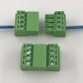 4pin contacts of wire plug-in M&F terminal block