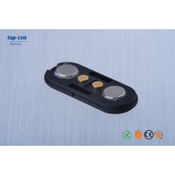 Connecteur magnétique à 2 broches Pogo avec personnalisé