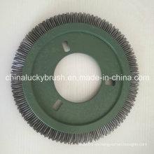 Cepillo redondo de alambre de acero para LK Stenter (YY-442)