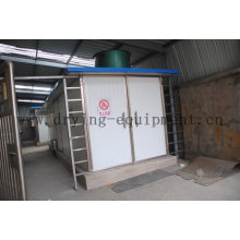 Serie KBW Secador de aire de circulación de aire caliente Jumbo para tabaco
