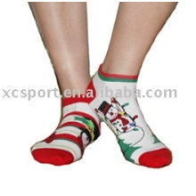Calcetines lindos de la Navidad