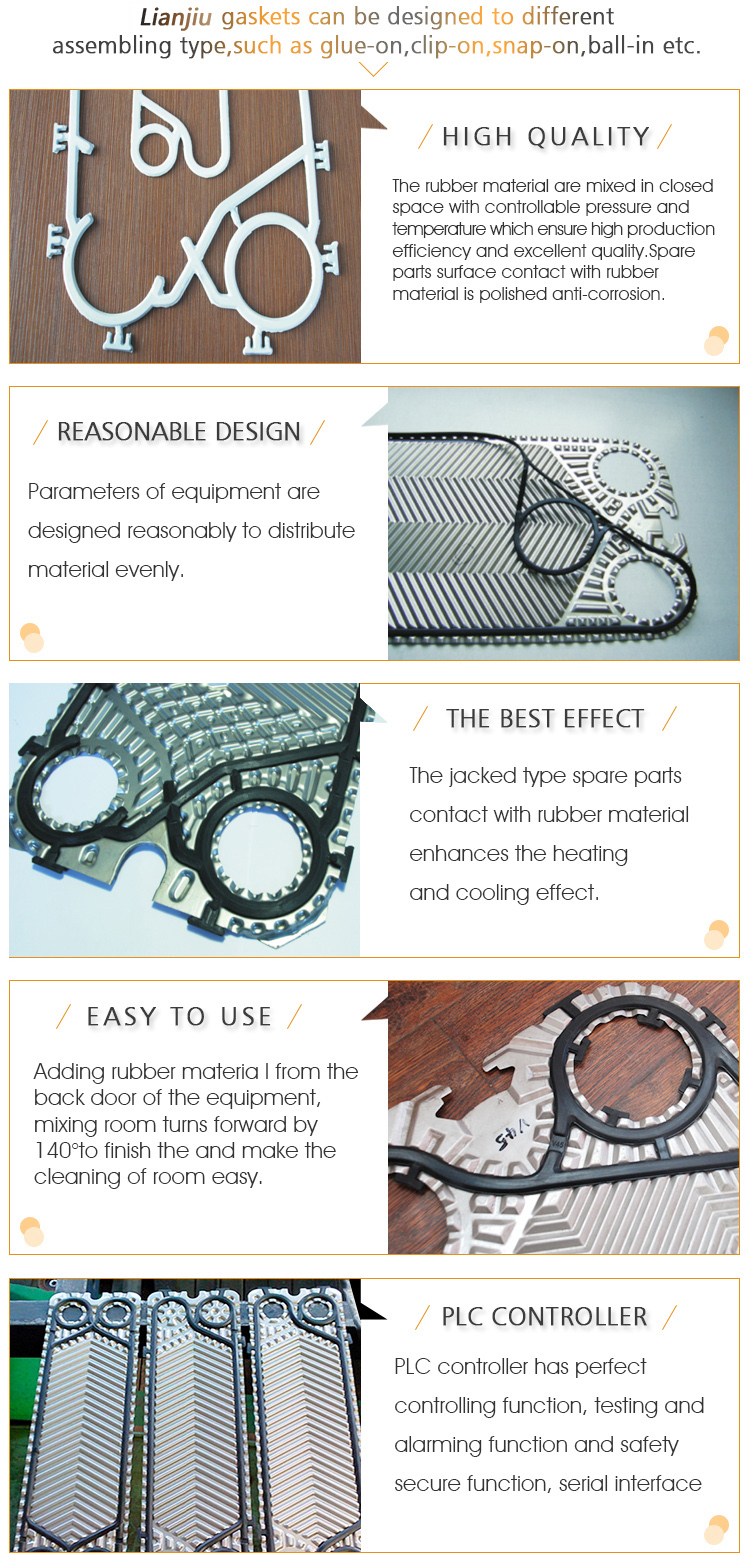 Gasket for Plate Heat