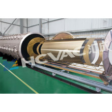 Máquina de revestimento de aço inoxidável da placa PVD de ouro