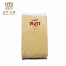 China-Hersteller-kundenspezifischer bunter Hamburger, der Kraftpapier-Tasche verpackt