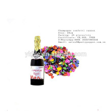 Cañón de confeti de botella de champán de alto rendimiento con excelentes precios bajos
