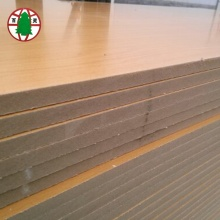 Factory Whosale Both Side Melamine Laminated MDF Board