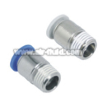 APOC Straight Male Round Adaptor Pneumatic Fittings